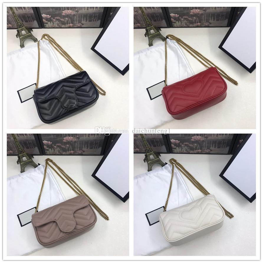 Melhor Melhor Qualidade Melhor Qualidade Lambskin Genuinel Womens Womens Womens Saco Com Caixa Mini Tamanho Crossbody Bag Bolsa Bolsa Bolsa Bolsa 476433