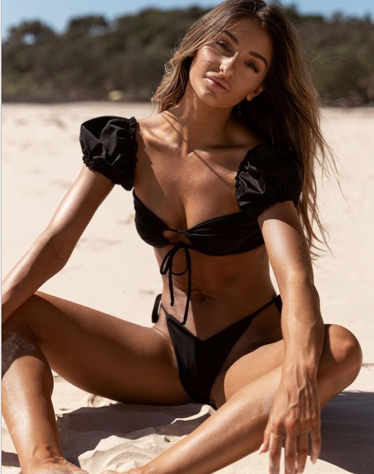 20SS de Alta Qualidade Feminino Bikini Swimsuit Terno Design Esportes Bra Colete + Calças Leggings Swimsuit Moda Sportswear