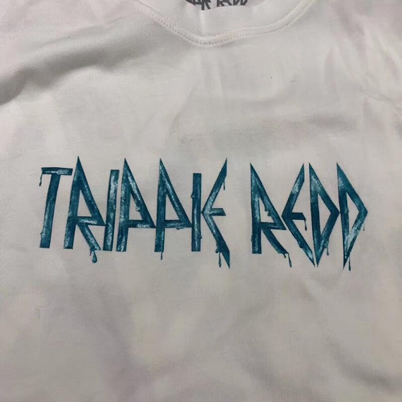 NOUVEAU 2021 TOP TRIPPIE REDD 1400 LIEUES A T-shirt Limite T-shirt à manches longues Tee Hommes Femmes Meilleures qualité Astroroworld T-shirts Y146 D2L8