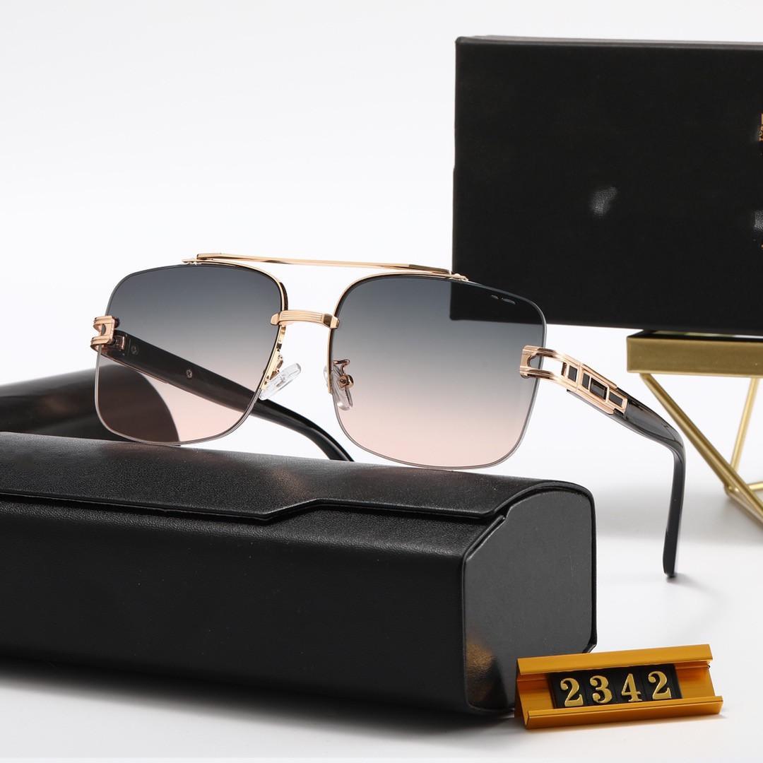 Designer di alta qualità Top New Dita Fashion Sunglasses 2342 2273 2278 Uomo Donna occhiali casual Brand Sun Lenses Personalità Eyewear