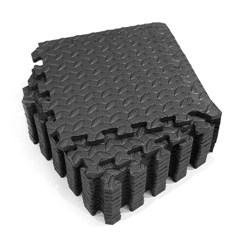 12PCS Absorbent Mat Waterproof Anti-slip Bubble Bowl Foam Multipurpose Exercise Cushion Splicing Mats Patchwork