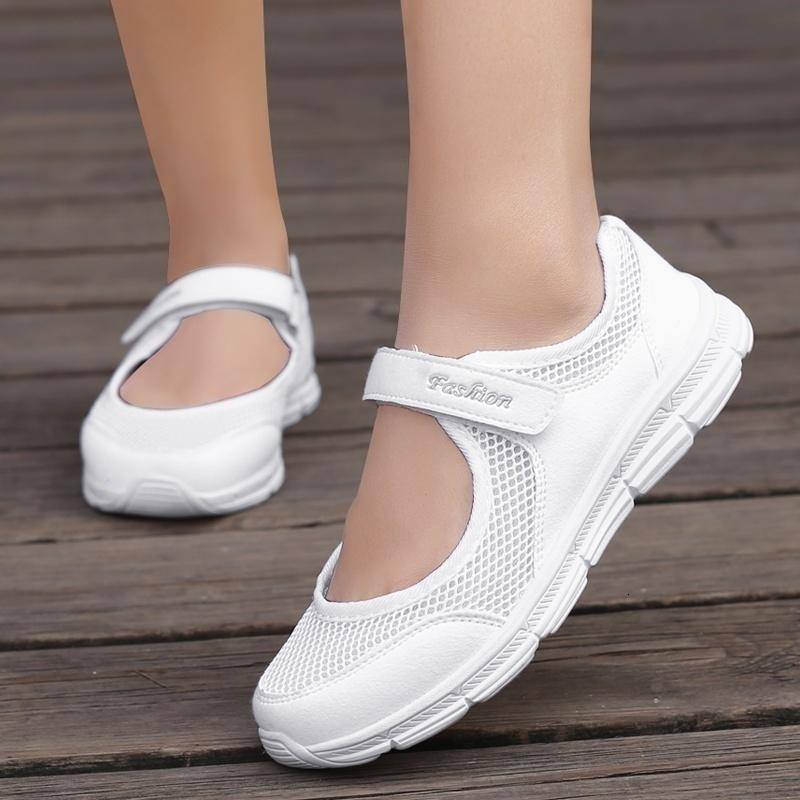 Dress Shoes Casual women's knitted shoes, casual fabric shoes breathable for training, fashions summer WE53
