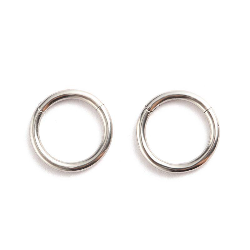 G23 in lega di titanio naso e orecchini per uomo e donne