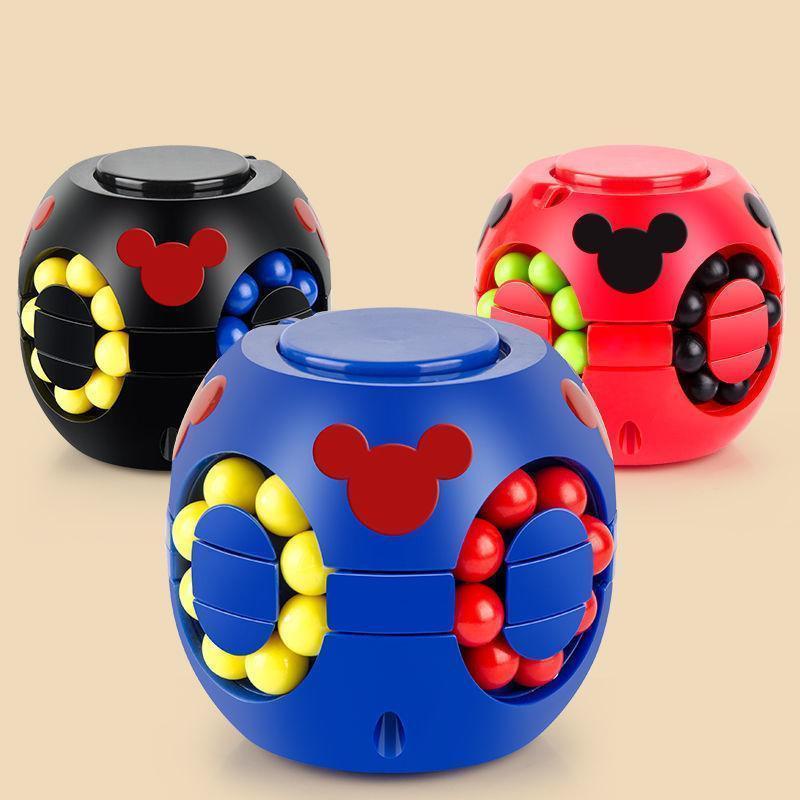 إلغاء ضغط لعب قطعة أثرية للأطفال التعليمية تطوير الدماغ لعبة إصبع أعلى سحرية فول برجر مكعب كيد هدية