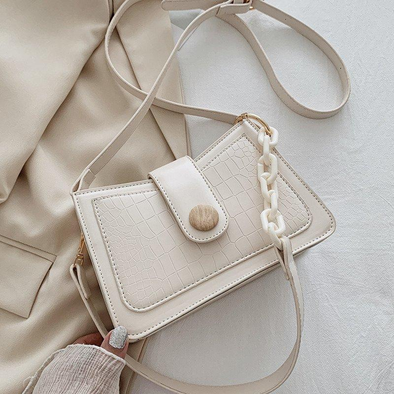 Stone Pattern Small Bag PU Leather Crossbody Bags For Women 2020 Shoulder Handbags Female Fashion Travel Totes C0302
