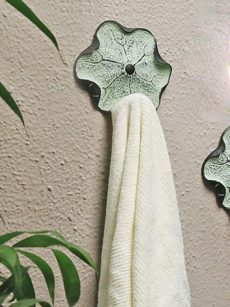 Towel Racks Chinese Style Creative Living Room Toilet Behind The Bedroom Door Wall Rack Art Decorations Hook