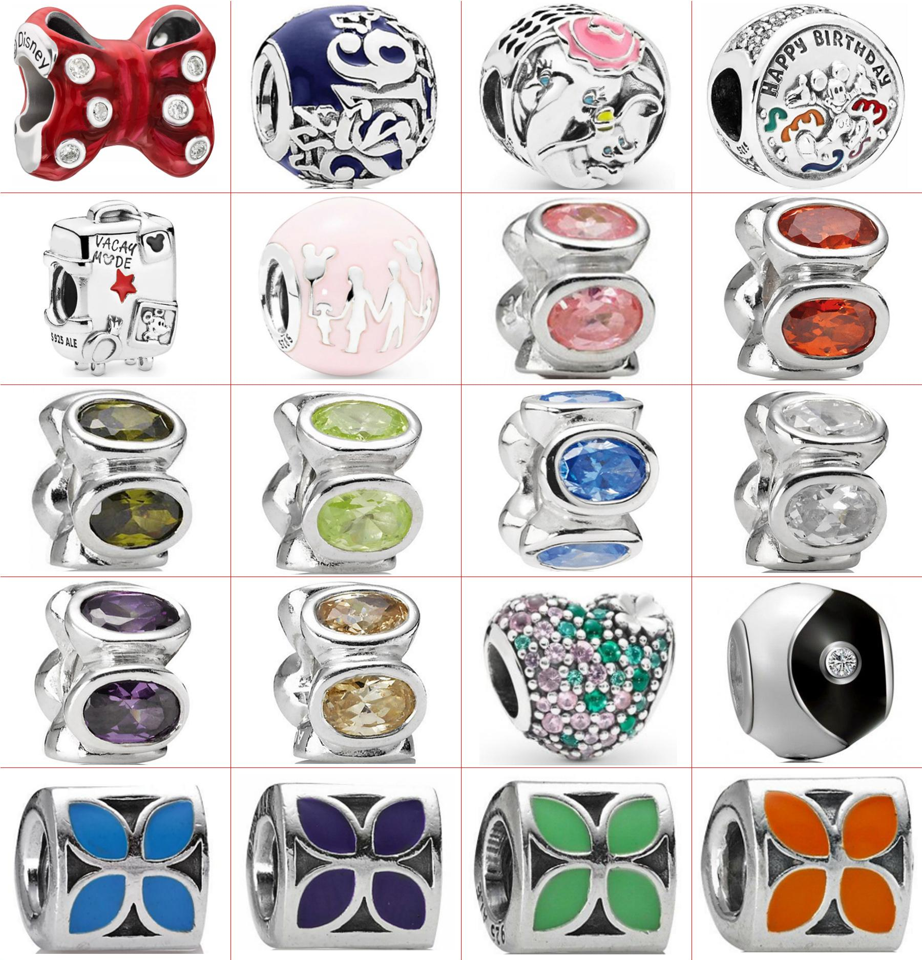 Fahmi 100% 925 Sterling Silver 1: 1 Oryginalny 792140NCC Autentyczne Temperament Moda Glamour Retro Bead Wedding Women Jewelry
