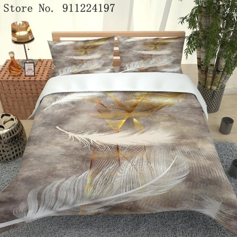 Set di biancheria da letto consolatore stampato 3D Set da letto 240x220cm Cover Duvet per bambini Trapunta per adulti copertura per adulti Bedclothes di lusso Biancheria da letto in microfibra