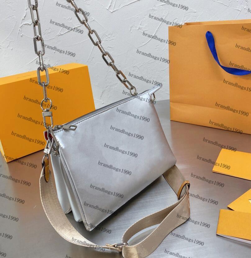 2021 Neueste Frühlingsmode Show Geprägte Umhängetasche Luxus Designer Handtasche Kreuz Körper Frauen Handtaschen Messenger Geldbörse Lady Tote Echte Ledertaschen
