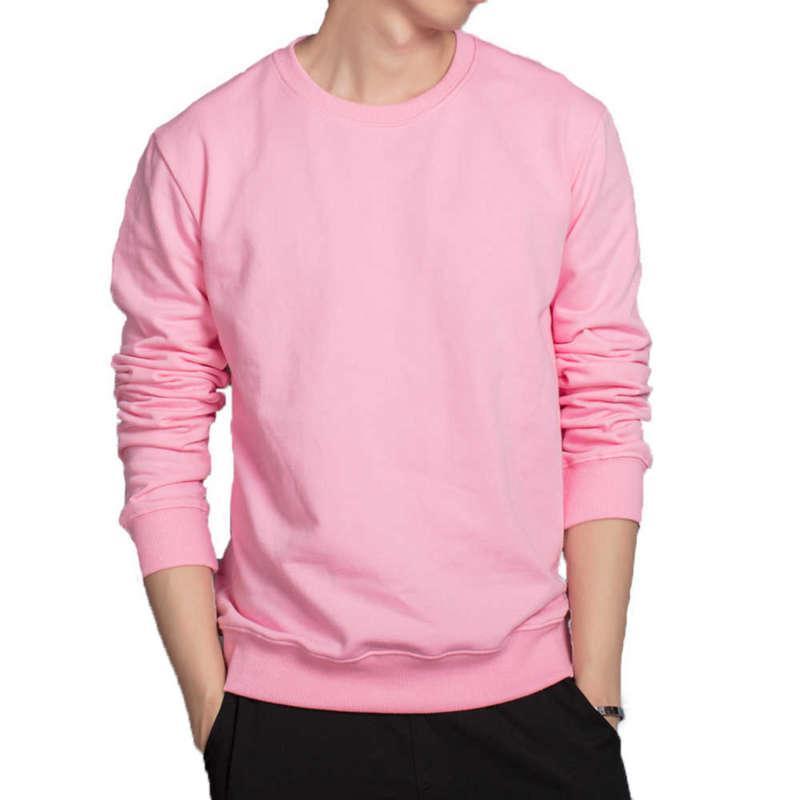 Mens Loose Hoodies Rosa Vermelho Vermelho Vermelho Cinza Branco Candy Cor Hoodies Respirável Algodão Sweatshirts Casual Outwear roupas macias 210927