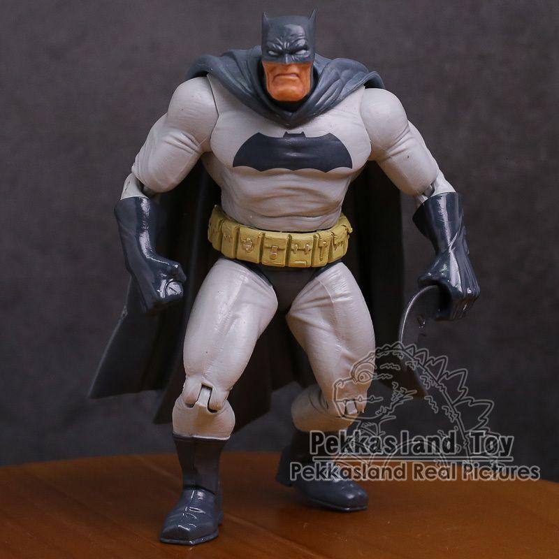 "Super Heroes Fat Bruce Wayne Clark Kent Pvc Action Figure Collectible Model Toy 7"" 18cm"