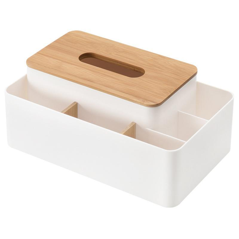 Tissue Boxes & Napkins Multifunction Box Rectangular Facial Holder For Dining Room, Kitchen, Bedroom Dressers And Home DéCor