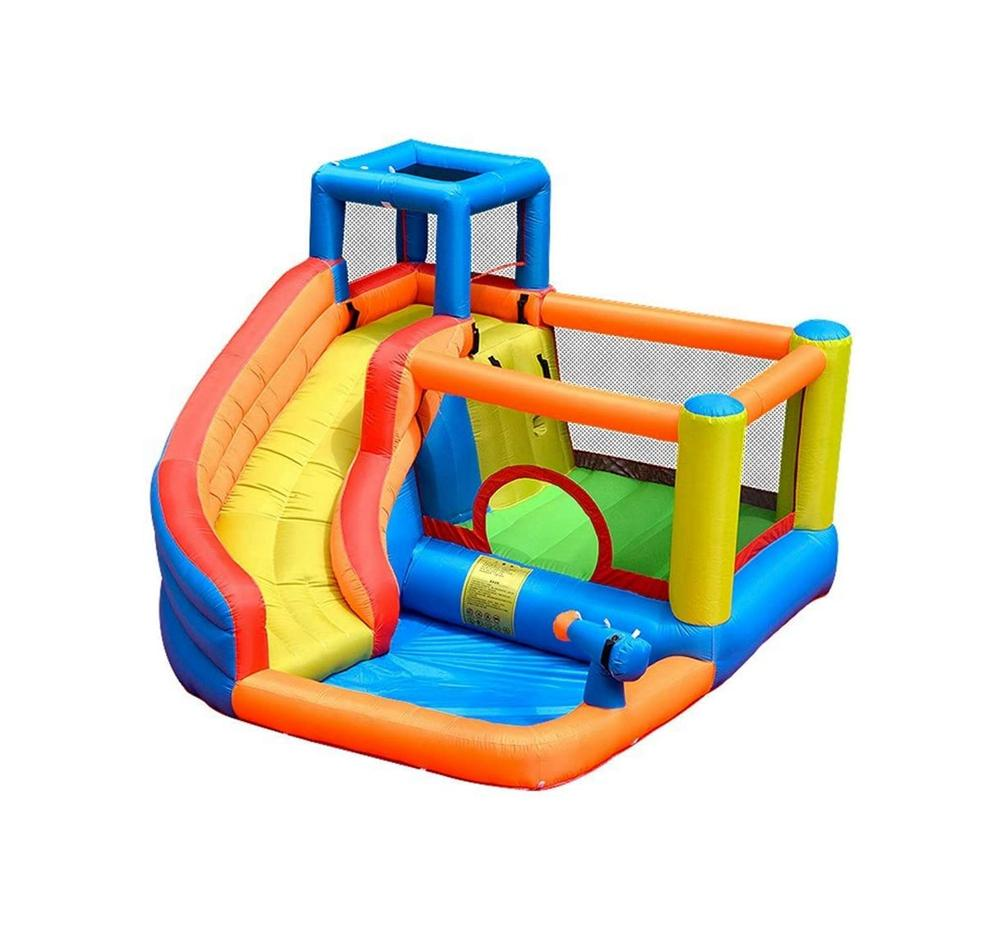 وسادة الهواء قلعة نفخ المياه الشرائح ترتد البيت نطاط للأطفال في الهواء الطلق في الأماكن المغلقة حفلة عيد ميلاد مع منفاخ مضاعف لعبة الطفل بوم
