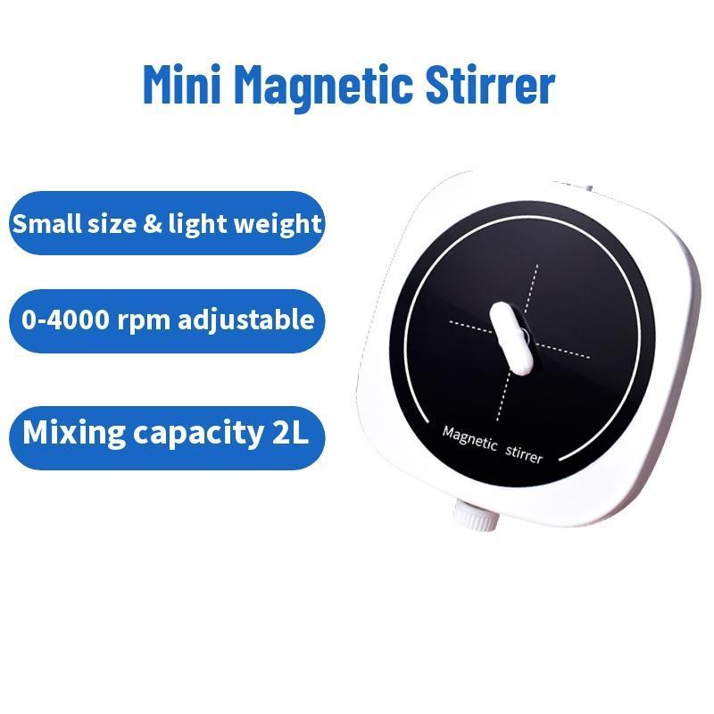 2L Magnetic Stirrer Magnetic stirrer bar Small Palm 4000rpm Laboratory Portable