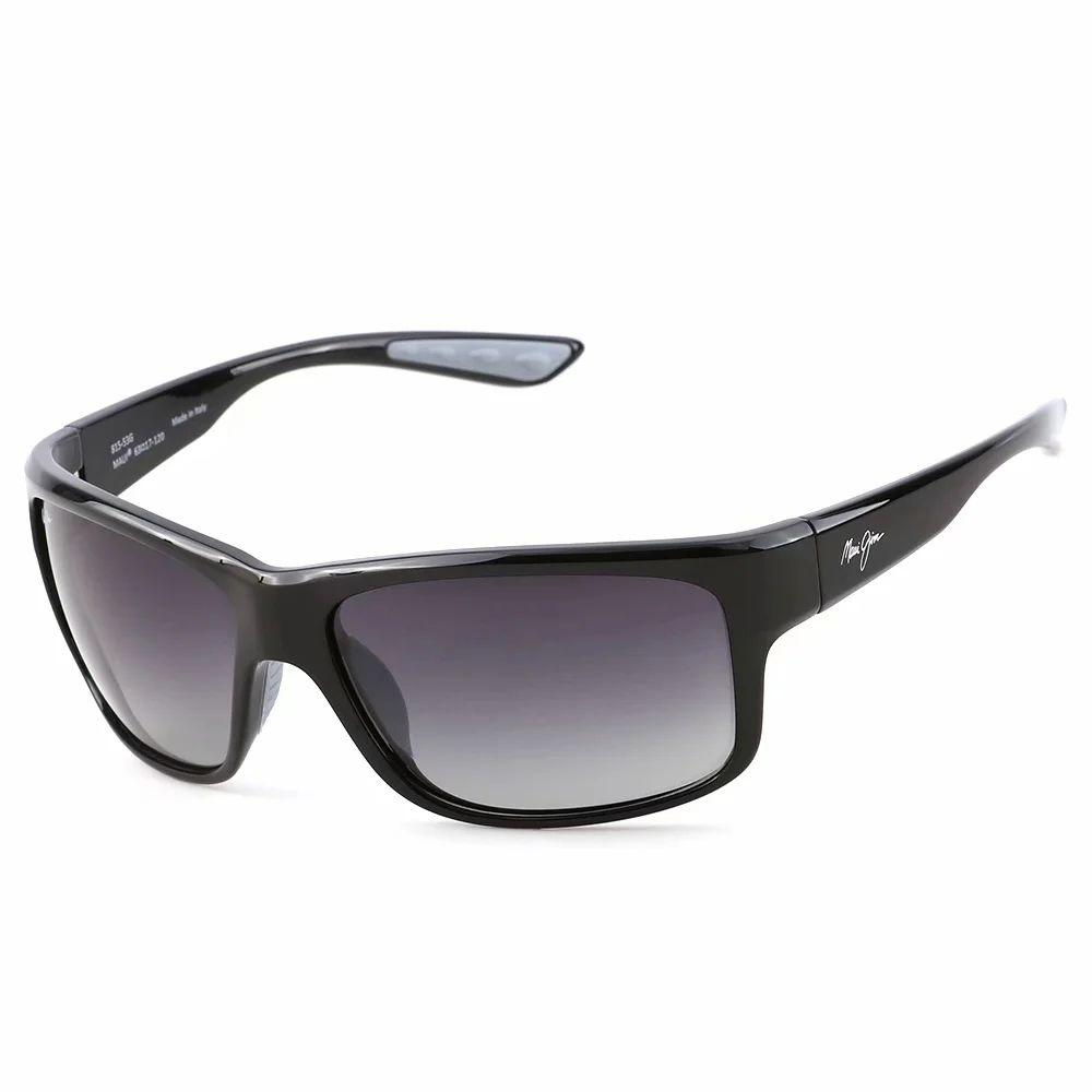 БрендмауэйДжимМужские солнцезащитные очки 815-53B Высококачественные поляризованные объектив UV400 Классический бренд Роскошные дизайнеры Солнцезащитные очки для женщин TR90 Силиконовая рамка