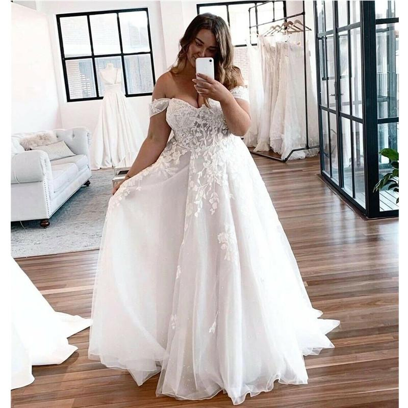 Summer Wedding Dresses V Neck Backless Sweep Train A Line Appliques Lace Garden Beach Boho Country Bridal Gowns robes de mariee
