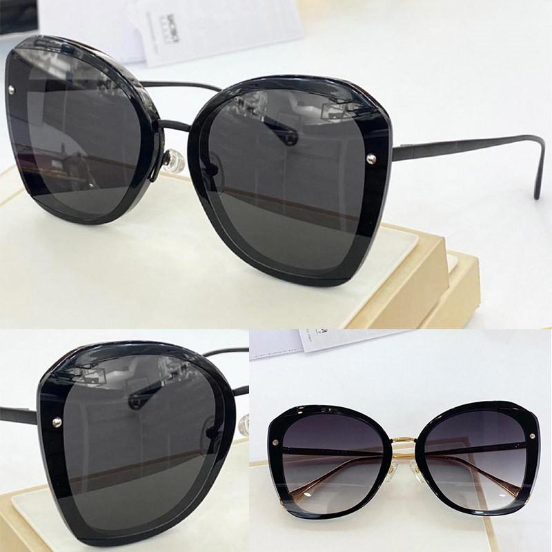 4375 Nouveaux lunettes de soleil à la mode avec protection UV pour les femmes Vintage cadre invisible Populaire Top Qualité Haut Venez avec étui Sunglasses classiques FXOJ