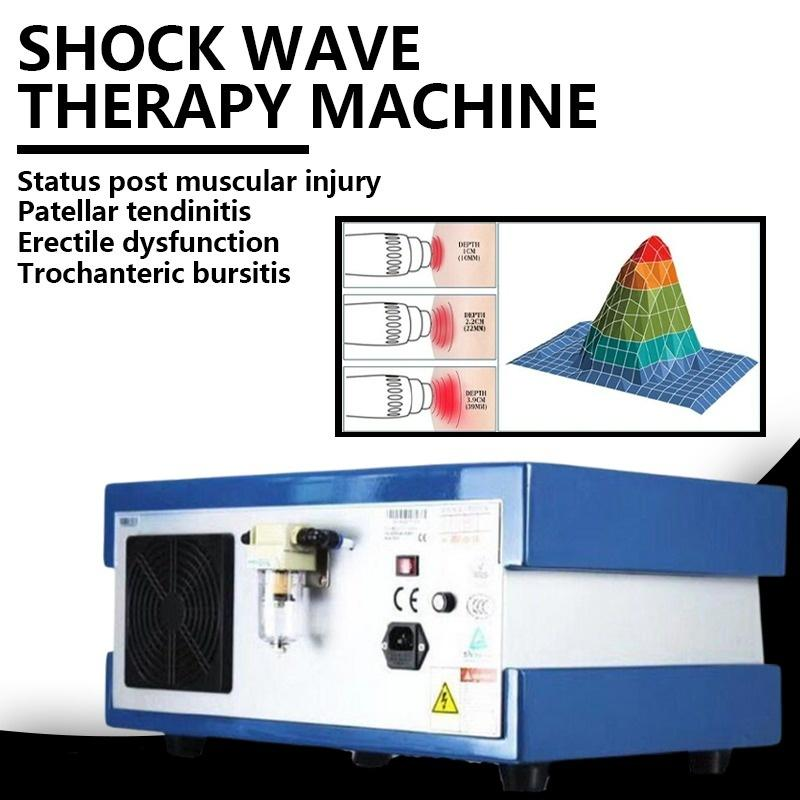 new German imported compressor 8 bar 2000000 shots shock wave therapy shock wave therapy /extracorporeal erectile dysfunction management