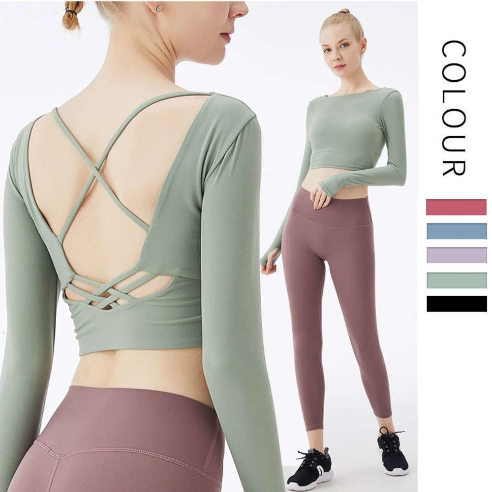 Spring and Autumn Sports with bra set moisture absorption and sweat drainage solid color temperament women's tracksuit