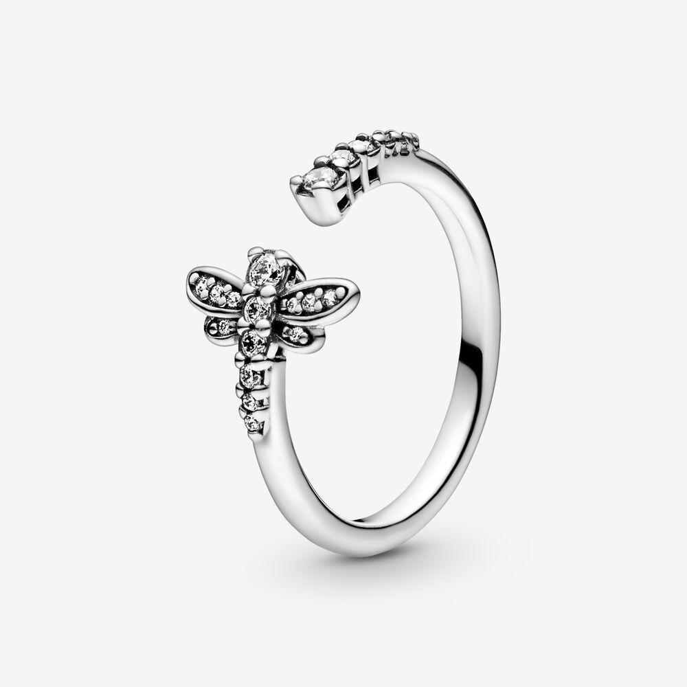Auténtica 925 Princesa de plata esterlina Tiara Crown Sparkling Love Heart CZ Anillos para mujeres Compromiso Joyería Aniversario