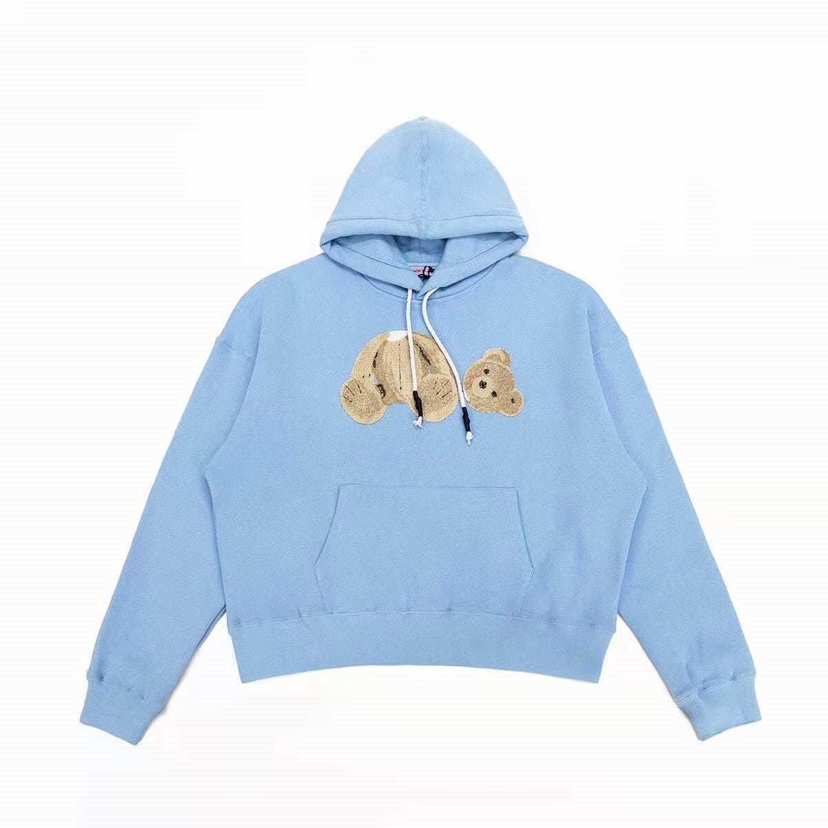 Femmes chaudes Longues Swevees à capuche Sweat-shirt Lettre Designer Imprimé Designer Hommes Cuff Cuff Kangourou Pocket Bear Sweat à capuche