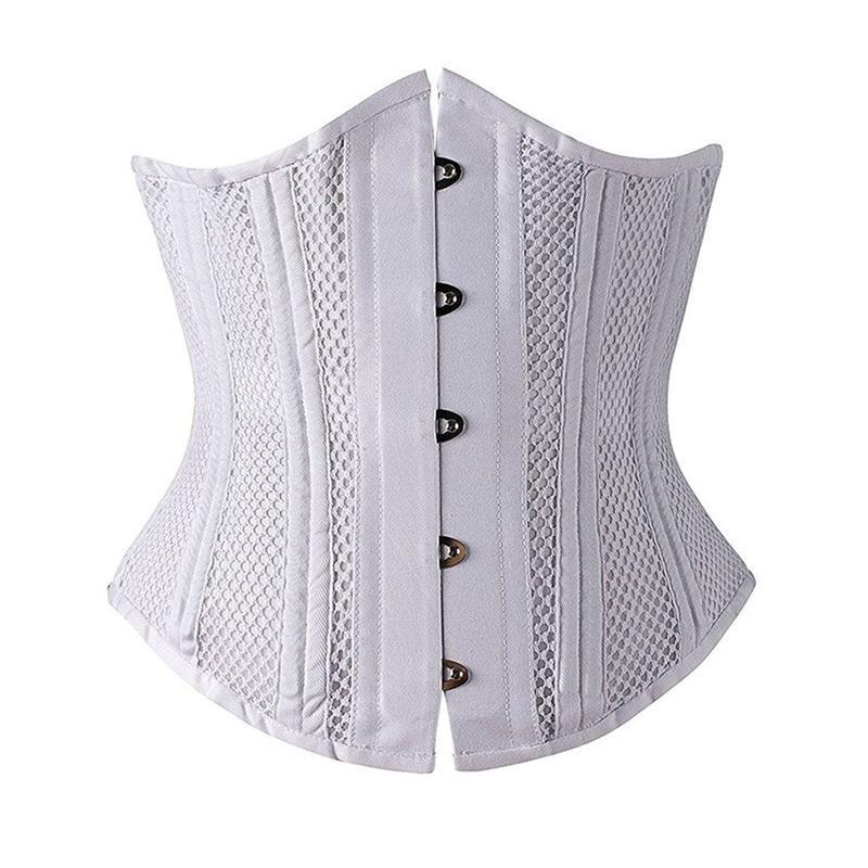 벨트 에어 그라비아 벨트 법원 거들 허리 클립 shapewear 메쉬 통기성 레이스 업 미디어 바디 조각 아름다운 곡선