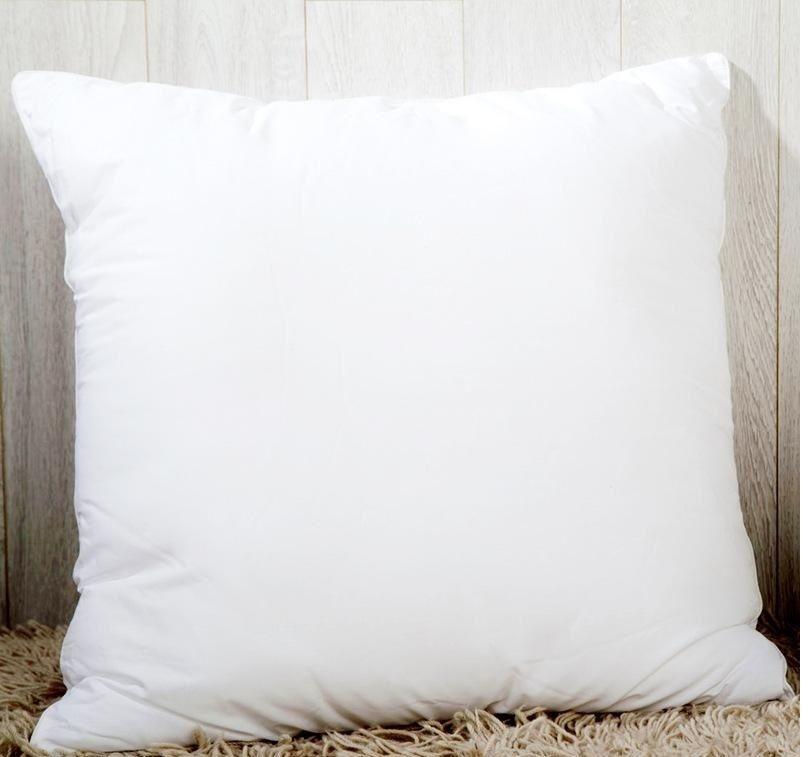 45 * 45 cm Sublimação quadrado fronhas DIY Cobertura de travesseiro para transferência de calor Casos de sofá em branco Throw almofada A06