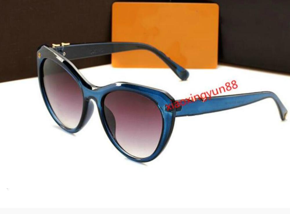 Hohe heiße Verkauf Box für Gläser Shades Schutz Qualität Männer Sun Square Unisex Mode Frauen Luxus UV400 2021 Mit Sonnenbrille Dameb