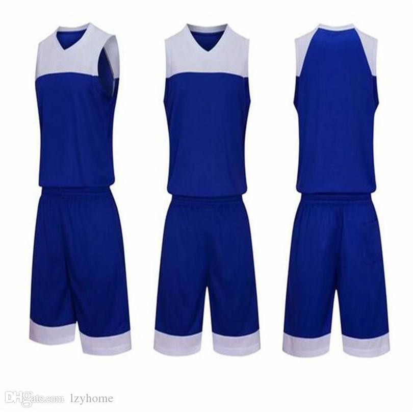 Jersey de basquete feita sob encomenda de DIY dos homens A00236AB11 Jerseys Summer College Team Sportswear com qualquer nome e número