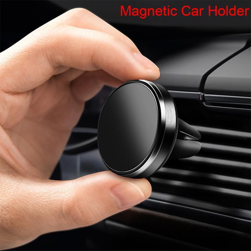 Porte-téléphone portable Support magnétique pour mobile sur la voiture 11 Pro Max Magnet Mini GPS Navigation de navigation