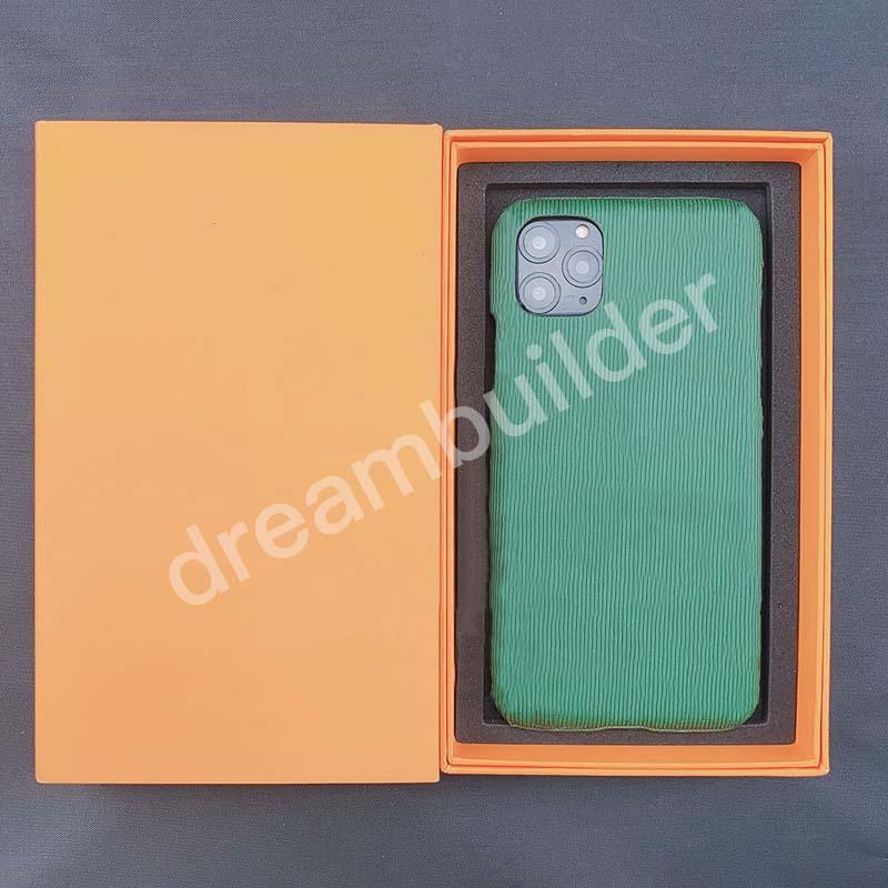 8 Color Designer Fashion Cases per iPhone 12 Pro Max 11 11Pro 11Promax 12mini 7 8plus x XR XS XSMax Caso in pelle PU Samsung S10 20 Plus Nota 10P 20U Shell protettiva