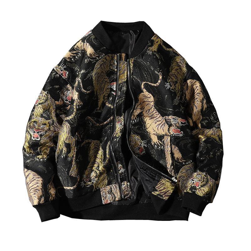 Supzoom 2021 Llegada Animal Cost Rib Sleeve Man Uniform Chaqueta de algodón Ropa Bwoj