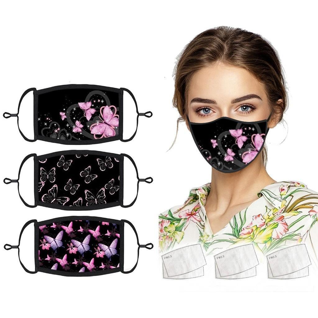 Un masque de masque de poussière réutilisable 13 couleur avec 2 joints XHAAI2
