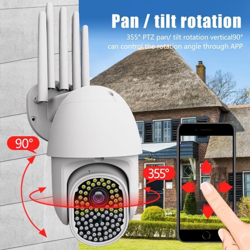 Smart Home Control WiFi Telecamera di sicurezza wireless Vision10m 2.9 HD IP Surveillance 2-way Audio Audio Pet 380V MP4 Baby Monitor max 25