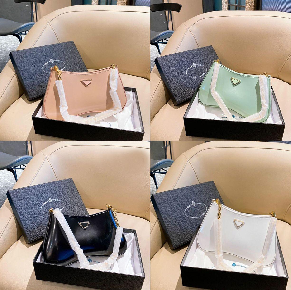 2021 роскошные портативные сумки на ремне Женские модные брендовые дизайнер подмышечный сумка Messenger размер 26 * 15 см