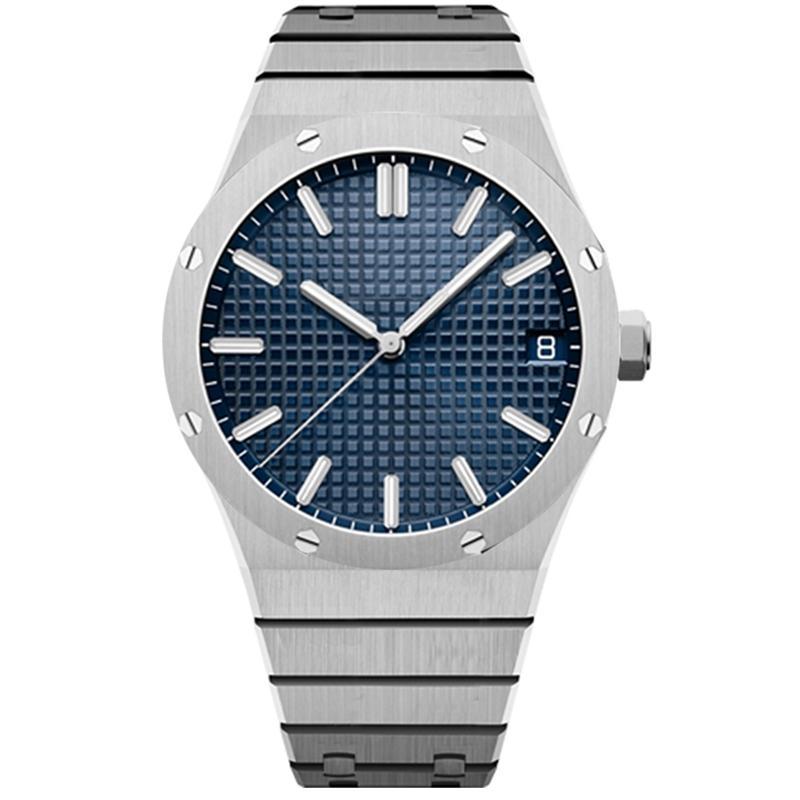 【 code: OCTEU06 】Montre de Luxe Relojes mecánicos automáticos para hombre de lujo 41mm de acero inoxidable completo Sapphire Super Luminous 5atm Impermeable U1 Wristwatches