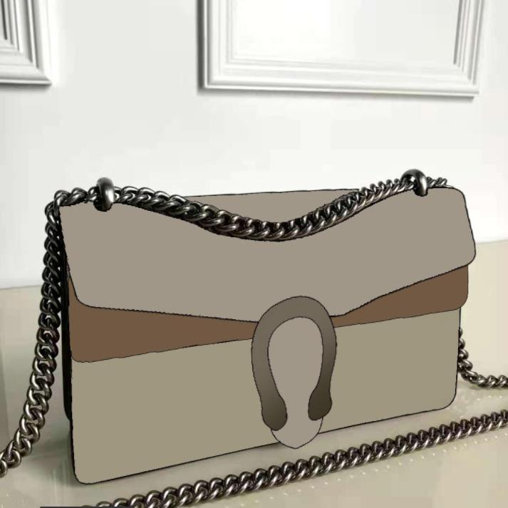 أكياس السيدات مصمم السيدات مخلب حقائب اليد الكلاسيكية سلسلة ttrap الأزياء الكتف الإبط حقيبة retrobags بسيطة 400249