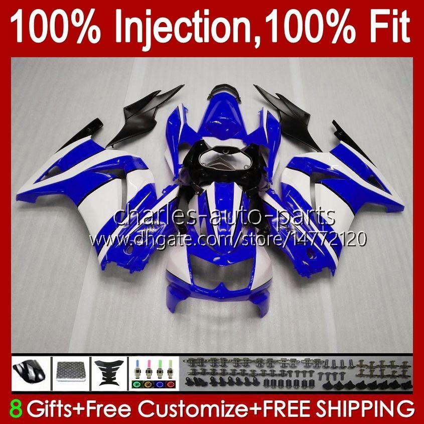 Kawasaki Ninja Red Factory ZX250R EX250 ZX250 08 09 10 11 12 13HC.178 ZX 250R EX250R ZX-250R 2008 2009 2012 2012 페어링