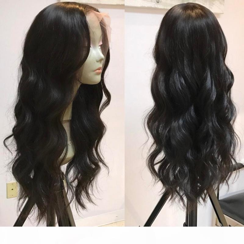 Hotselling Brasilian U parte Pelucas para el cabello humano 1 * 4 Parte izquierda Grado 8A ola natural 100% sin procesar afroamericano de la peluca para las mujeres negras