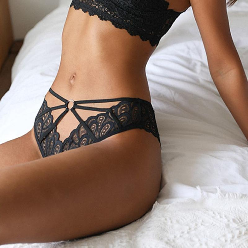 2021 Women Panties Sexy Lace Underwear Woman Knickers Floral Lingerie Female Seamless Briefs Underpants Sex Thong
