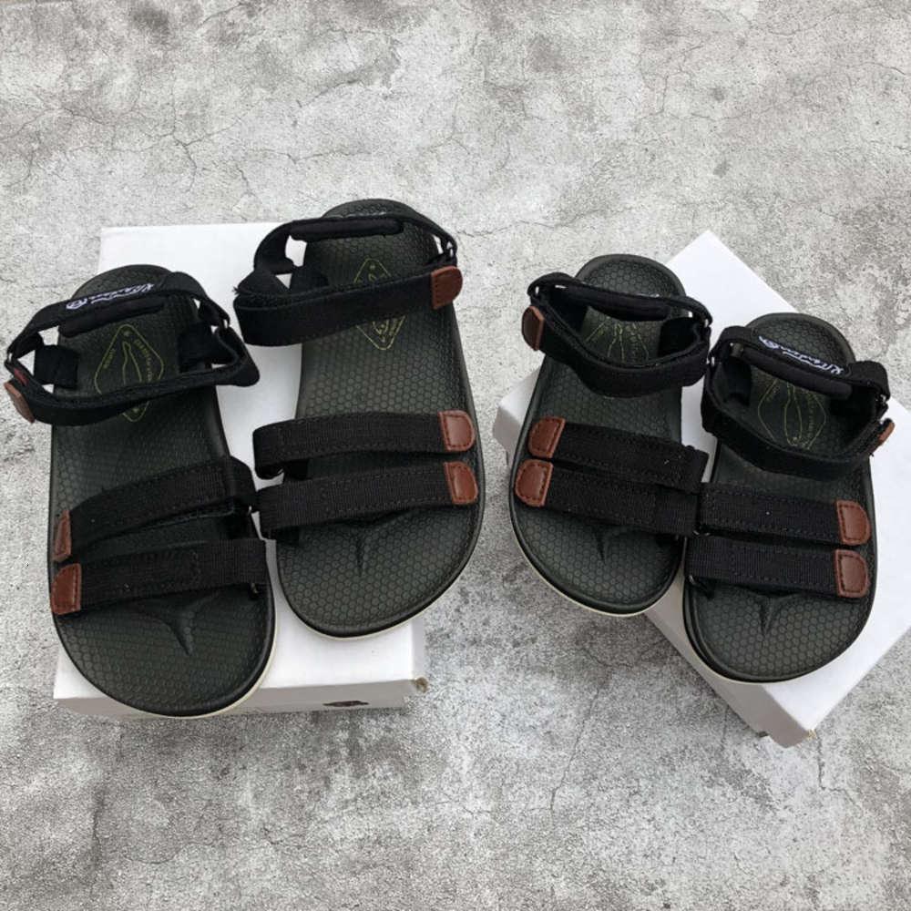 Сяксин новые сандалии на липучке для мальчиков и девочек
