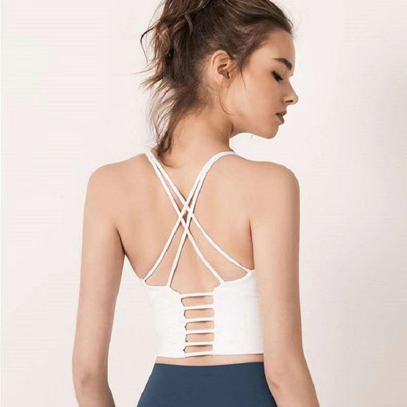 Chaleco de yoga de moda