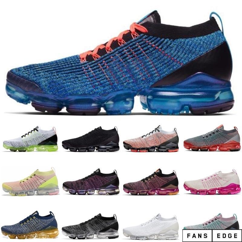 Chaussures de sport à montée en rose orange bon marché pour femmes et hommes brillants Mangue Flash Crimson Runing Shoe Baskets de Mens d'extérieur Athlétique Taille 36-45