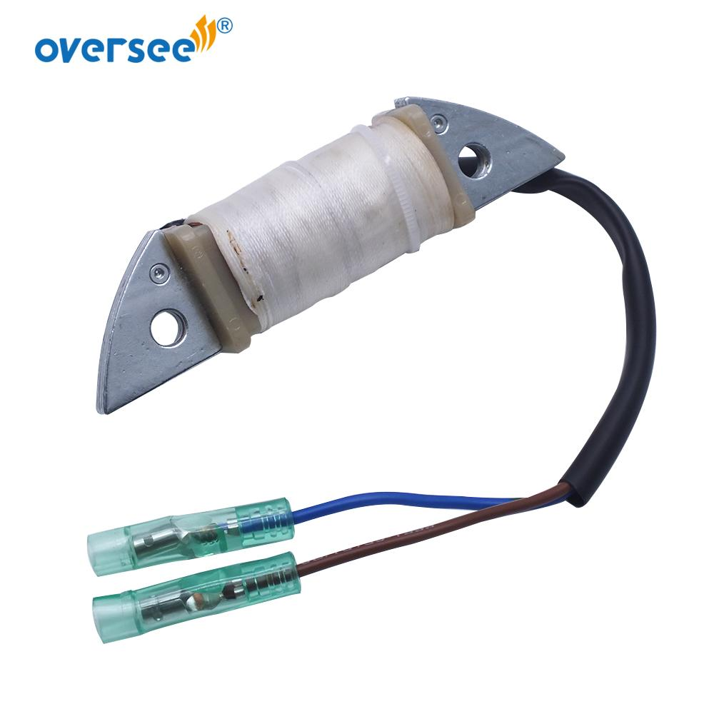 Nowe nadzorowanie dostaw detalicznego Cewka 63V-85520-00-00 do montażu YAMAHA 9.9HP 15HP Outboard Części zamienne Model silnika