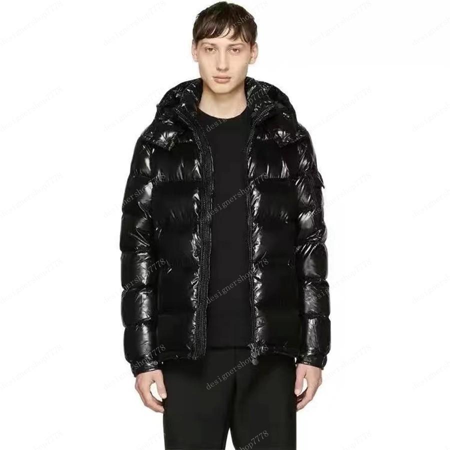 Down Jacket Herren Stylist Luxy Brand Mantel Parka Winter Mode Männer Frauen Winter Feder Mantel Parkas Kleidung