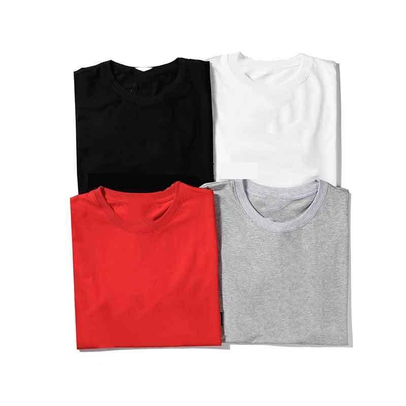 Erkekler için Moda T Shirt Tops Mektup Nakış T Gömlek Erkek Bayan Giyim Kısa Kollu Tişört Erkekler Tees S-XXL BL