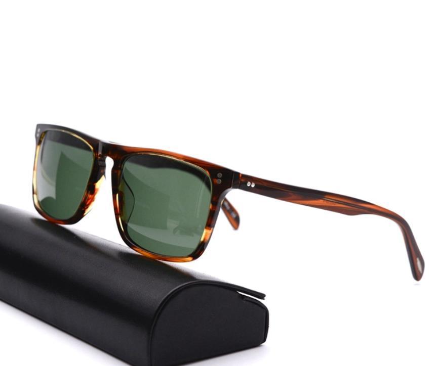 Nuevo diseñador OV5189 Lentes de color OV 5189S UV400 Gafas de sol polarizadas cuadradas de vintage retro 5189 con caja de orig