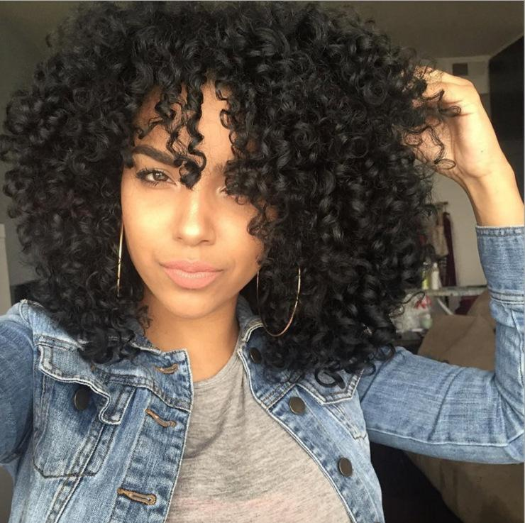Fashionable Wig Beautiful Goddess Synthetic Wigs Wig, Chemical Fiber Medium Long Wig