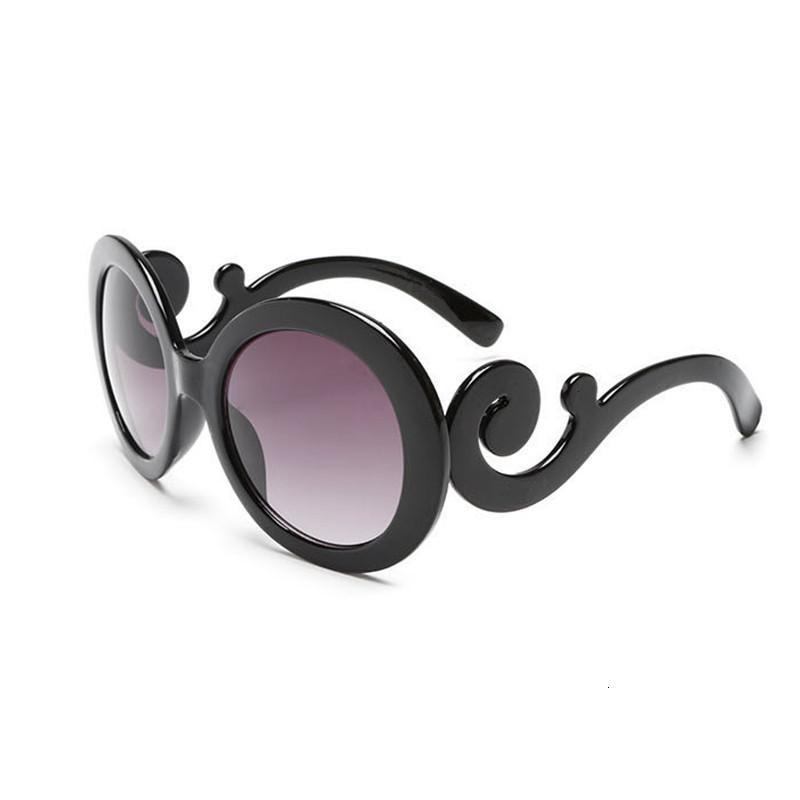 Dokly de luxe blanc ovale en plastique ovale Bella hadid Instagram Legs de marque design de marque Kurt Cobain Round Sunglasses Femmes WGXQ