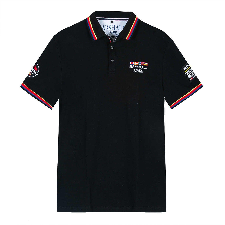 Новая весной и летняя рубашка поло Мужской отворота 039 к8